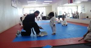 Little Boy Taekwondo