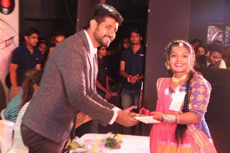 Prize Distribution at NIEM College Idol Finale