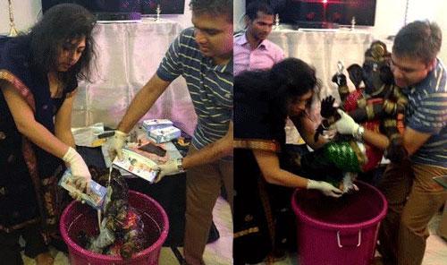 Making of 35 Kg Chocolate Ganesha Idol