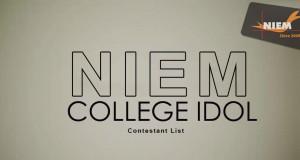NIEM Ahmedabad College Idol
