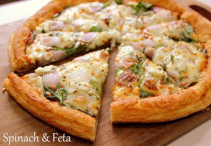 Puffiza AHmedabad puff based pizza
