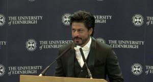 Shahrukh Khan speech at Edinburgh