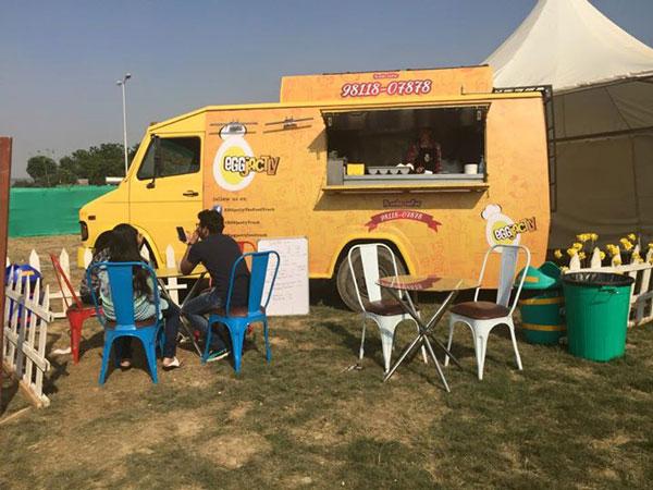 EGGTactly Food Trucks In India Gurgaon Noida