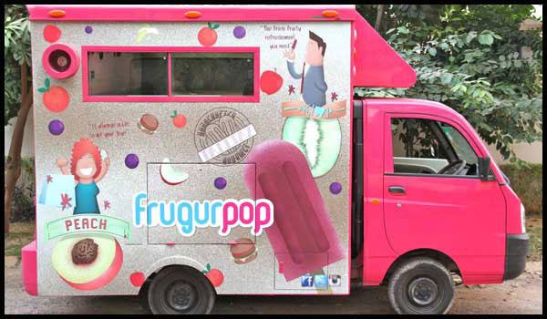 Indian Food Trucks in mumbai FrugurPop