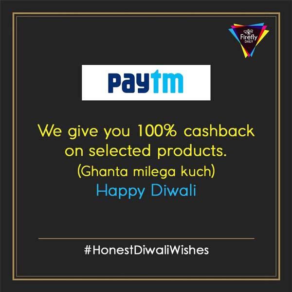 Paytm diwali wishes