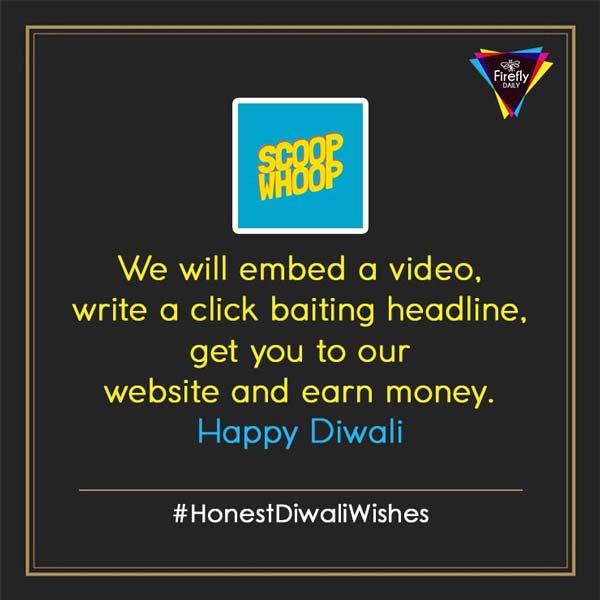 Scoop whoop Diwali Wishes