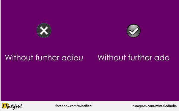 English Phrases Used Incorrectly