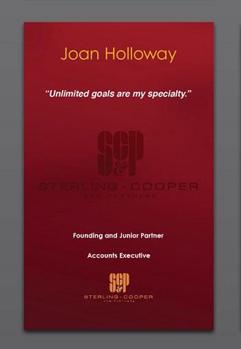 Joan Holloway Sterling Cooper
