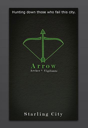 Arrow Visiting Card