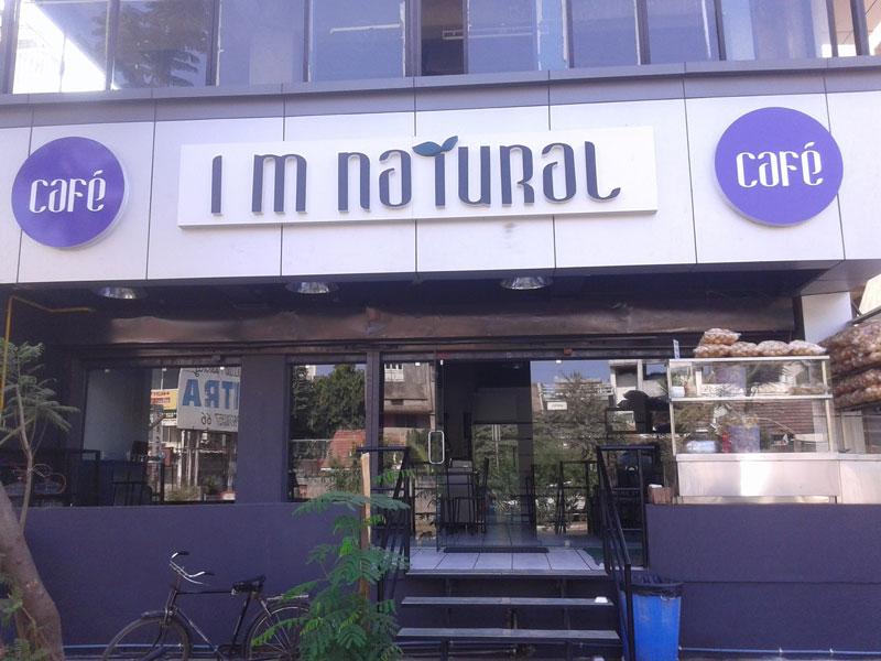 I M Natural Cafe Navrangpura Ahmedabad