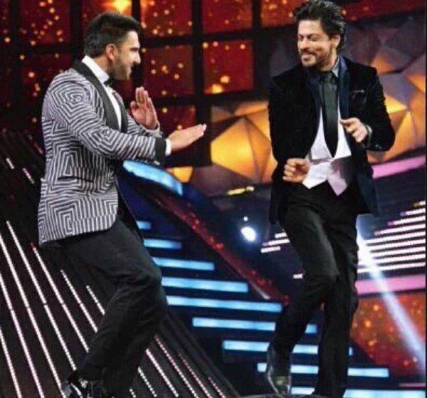 Ranveer Singh and Shahrukh Khan