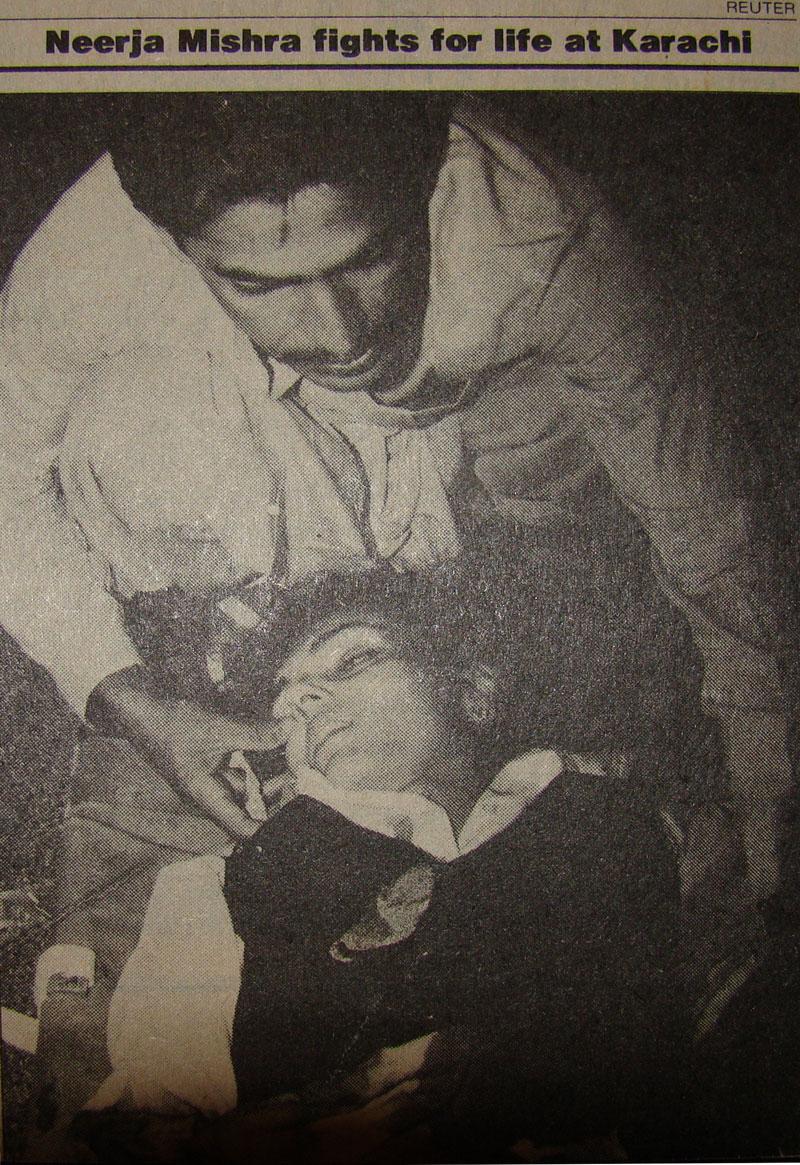 Neerja Bhanot dead