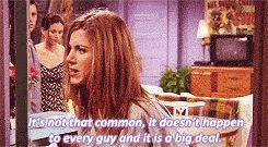 Ross and Rachel break up