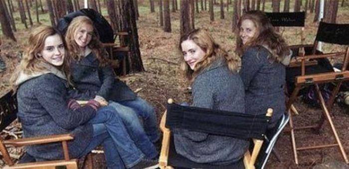 Emma Watson Body double harry potter