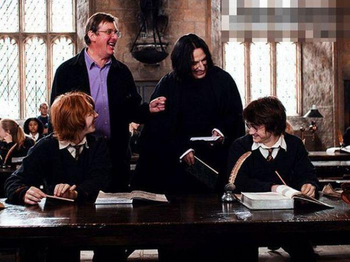 Harry Potter Movie Set Photos