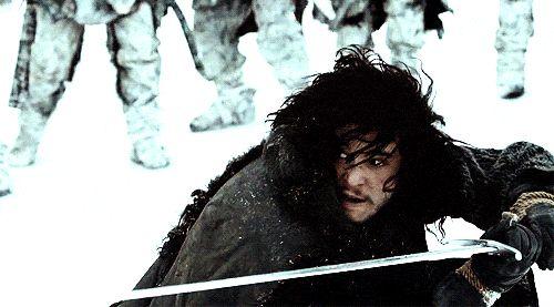 Jon Snow sword Fight