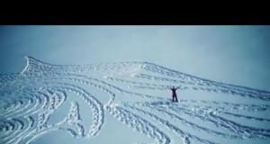 Game of thrones snow art