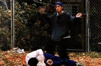 Chandler funny dance step