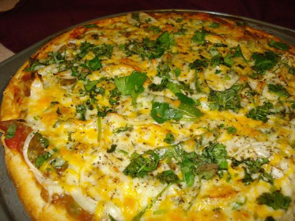 Pav Bhaji Pizza
