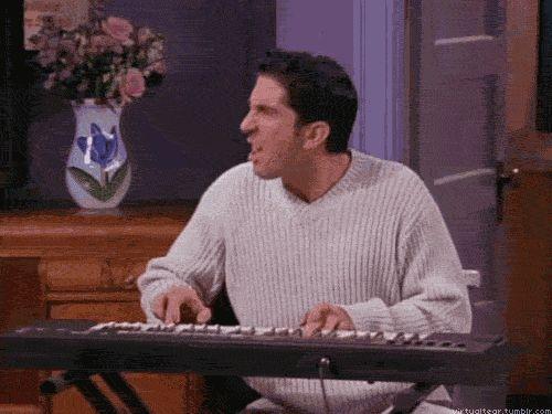 Ross Geller Keyboard