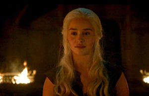 Daenerys Targaryen burnt the Dothrakis
