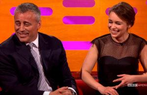 Daenerys met Joey